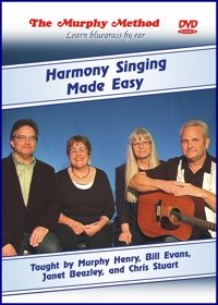 Harmony Singing DVD cover