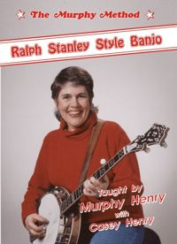 Ralph Stanley Style DVD cover