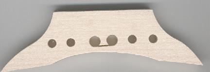 six hole bridge shaped
